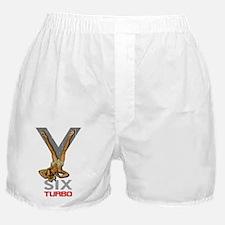 V6 TURBO for dark 2 Boxer Shorts