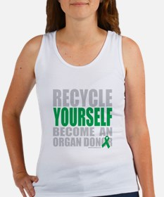 Recycle-Yourself-Organ-Donor-TCH- Women's Tank Top