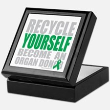 Recycle-Yourself-Organ-Donor-TCH-bk Keepsake Box
