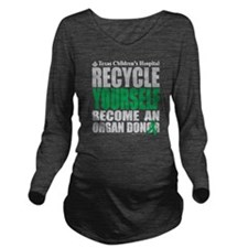 Recycle-Yourself-Org Long Sleeve Maternity T-Shirt
