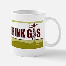 No Fracking - Let Them Drink Gas - Bump Mug