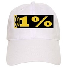 We are the 99 (Squeezed) - bumper - color Baseball Cap