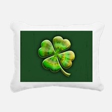 clover-tiedye2-OV Rectangular Canvas Pillow