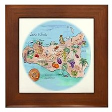 sic.map-1 Framed Tile