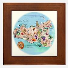 sic.map-1 Framed Tile