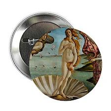 """Pillow Botticelli Venus 2.25"""" Button"""