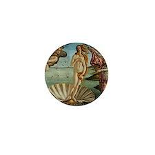 Pillow Botticelli Venus Mini Button
