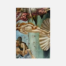 iPad D Botticelli Venus Rectangle Magnet