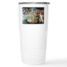 Coin Botticelli Venus Travel Mug