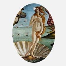 K/N Botticelli Venus Oval Ornament