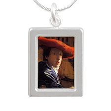 Vermeer Mag4 Silver Portrait Necklace