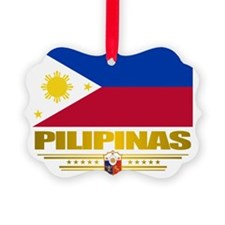 Philippines (Flag 10) 2 Ornament