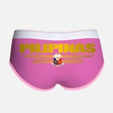 Philippines (Flag 10) pocket 2 Women's Boy Brief
