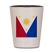 Philippine Flag (iPad2) Shot Glass