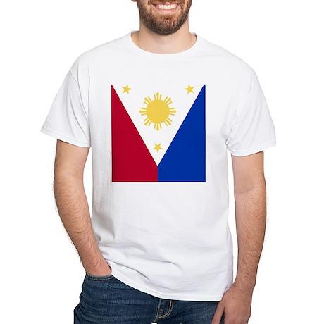 Philippine Flag (iPad2) White T-Shirt