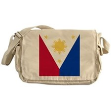 Philippine Flag (iTh2) Messenger Bag
