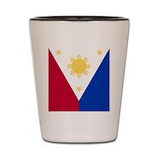 Philippine Flag (iTh2) Shot Glass