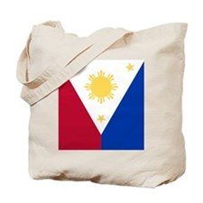 Philippine Flag (iTh2) Tote Bag