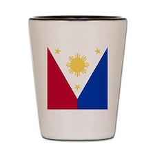 Philippine Flag (iPh4 half) Shot Glass