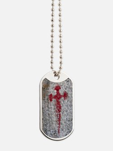 Cross of Saint James Dog Tags