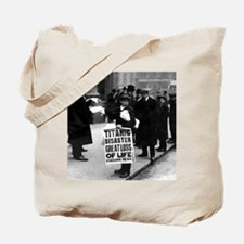 Titanic news boy BIG Tote Bag