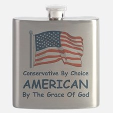 Conservative by Choice Flask