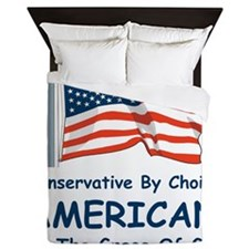 Conservative by Choice Queen Duvet