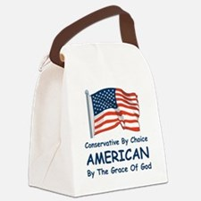 Conservative by Choice Canvas Lunch Bag
