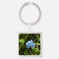P7230069 Forgetmenot #01 Square Keychain