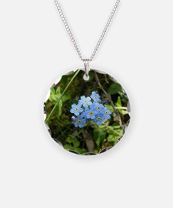 P7230069 Forgetmenot #01 Necklace