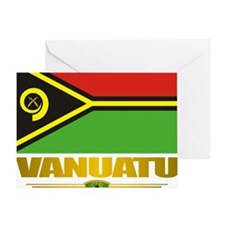 Vanuatu (Flag 10)2 Greeting Card