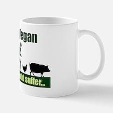 Team Vegan Shirt Mug