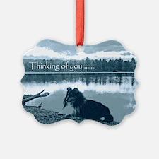 cafepress sissy lake final 5 x 7  Ornament