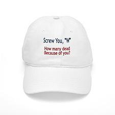 Screw W - Baseball Cap