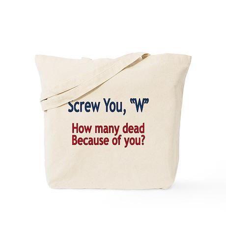Screw W - Tote Bag