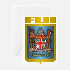 Fiji Gold Greeting Card