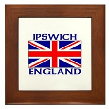 Funny Union jack Framed Tile