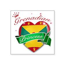 """grenada Square Sticker 3"""" x 3"""""""