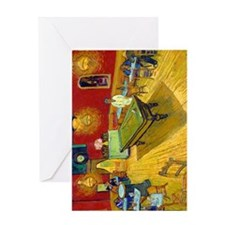 iPad VG Night Greeting Card