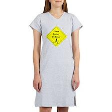 Future Runner On Board Maternit Women's Nightshirt