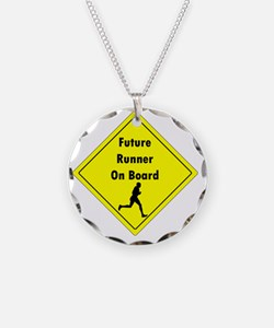Future Runner On Board Mater Necklace