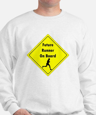 Future Runner On Board Maternity T-Shir Sweatshirt