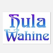 hula-wahine3_crop.gif Postcards (Package of 8)
