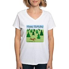 forest dog happy birthday n Shirt