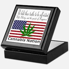 Cannabis Nation Keepsake Box