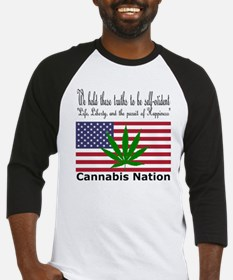 Cannabis Nation Baseball Jersey