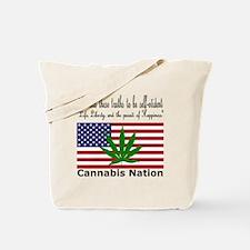 Cannabis Nation Tote Bag