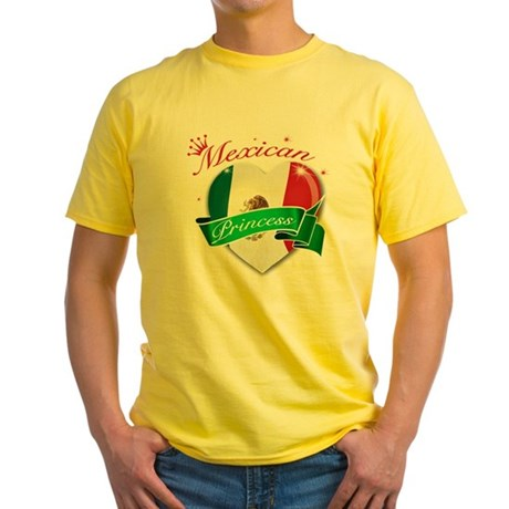 mexico Yellow T-Shirt