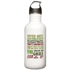 Never Quit Water Bottle