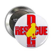 "rescue dog 04 2.25"" Button"